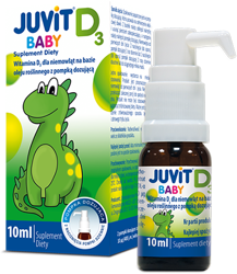Juvit Baby D3, krople doustne 10ml