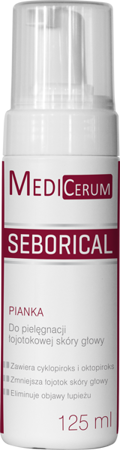 Medicerum Seborical, pianka 125 ml